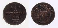1 Pfennig 1825 Waldeck  fast ss  16,00 EUR inkl. gesetzl. MwSt., zzgl. 7,00 EUR Versand