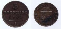 3 Pfennig 1867 B Waldeck  ss-vz  16,00 EUR inkl. gesetzl. MwSt., zzgl. 7,00 EUR Versand