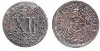 12 Pfennig 1623 Osnabrück, Std.  ss-, versilbert  22,00 EUR inkl. gesetzl. MwSt., zzgl. 7,00 EUR Versand