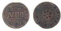 9 Pfennig 1625 Osnabrück, Std.  ss, leicht gewellt, min. Zainende  33,00 EUR inkl. gesetzl. MwSt., zzgl. 7,00 EUR Versand