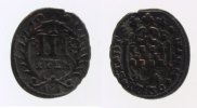 3 Pfennig 1736 Hamm, Stadt  s-ss  13,00 EUR inkl. gesetzl. MwSt., zzgl. 7,00 EUR Versand