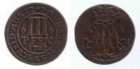 3 Pfennig 1703 Münster, Bistum  ss  22,00 EUR inkl. gesetzl. MwSt., zzgl. 7,00 EUR Versand