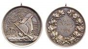 1926 Deutschland Silbermedaille Schützenwesen 1926 ss+, Rdf.  120,00 EUR