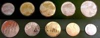 1 - 50 Santeem (1 - 50 Cents) 1977 Äthiopien Äthiopien, Offizieller Kur... 29,50 EUR  zzgl. 5,00 EUR Versand