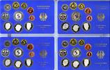 4 x 12,68 DM 1985 BRD Kursmünzensatz BRD Jahrgang 1985 komplett (D, F, ... 42,00 EUR  zzgl. 5,00 EUR Versand