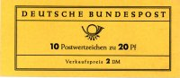 Bund 1 Markenheftchen Bund, MH-Nr. 11,  <i>Lorsch</i>, geffnet