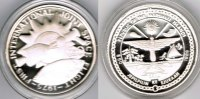 "Marshallinseln 50 Dollars Marshall Islands, silver coin ""apollo - sojus joint mission"", proof"
