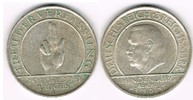3 Mark 1929 D Weimarer Republik 3 Mark Silber-Gedenkmünze Schwurhand - ... 30,00 EUR  zzgl. 5,00 EUR Versand