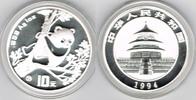10 Yuan 1994 China China, 1 Unze Silber, Panda 1994, Erhaltung siehe Sc... 349,00 EUR
