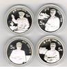 4 x 5 Yuan 1993 Volksrepublik China Große Persönlichkeiten, 10. Ausgabe... 229,00 EUR