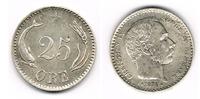 25 Öre 1874 Dänemark Dänemark 1874, 25 Öre, Christian IX., Erhaltung si... 49,00 EUR  zzgl. 5,00 EUR Versand
