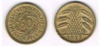 50 Pfennig 1923 D Weimarer Republik Weimarer Republik, 50 Pfennig (Rent... 35,00 EUR  zzgl. 5,00 EUR Versand