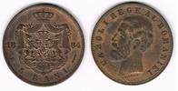 5 Bani 1884 Rumänien Romania - Kursmünze 5 Bani, Carol I., Erhaltung si... 30,00 EUR
