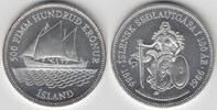500 Kronur 1986 Island Island 1986, 500 Kronur, Segelschiff / Sitzende ... 75,00 EUR  zzgl. 5,00 EUR Versand