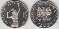 200 Zlotty 1987 Polen Polen 1987, 200 Zloty 'Probe', Olympische Spiele ... 29,00 EUR  zzgl. 5,00 EUR Versand
