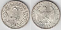 2 Mark 1931 E Weimarer Republik Weimarer Republik, Kursmünze 2 Mark 193... 85,00 EUR  zzgl. 5,00 EUR Versand