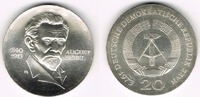 20 Mark 1973 Deutsche Demokratische Republik DDR, Gedenkmünze 20 Mark '... 40,00 EUR  zzgl. 5,00 EUR Versand