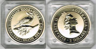 2 Dollars 1995 Australien Australien 1995, 2 Unzen 999er Silber, Kookab... 59,00 EUR  zzgl. 5,00 EUR Versand