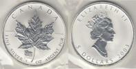 5 Dollars 2003 Kanada Kanada 2003, 1 Unze Silber, 'Maple Leaf - Privy M... 45,00 EUR  zzgl. 5,00 EUR Versand