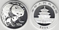 10 Yuan 2004 China China, 1 Unze Silber, Panda 2004, In Kapsel, Erhaltu... 89,00 EUR  zzgl. 5,00 EUR Versand