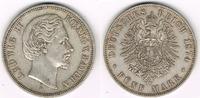 5 Mark 1874 D Kaiserreich - Bayern Deutsches Kaiserreich, Bayern, König... 69,00 EUR