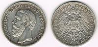 5 Mark 1901 G Baden Kaiserreich, Baden, Friedrich, 5 Mark 1901 G, Erhal... 69,00 EUR