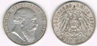 5 Mark 1907 G Baden Kaiserreich, Baden, Friedrich, 5 Mark 1907 G, Erhal... 47,50 EUR