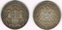 5 Mark 1899 J Hamburg Kaiserreich, Hamburg, 5 Mark 1899 J, Stadtwappen,... 45,00 EUR  zzgl. 5,00 EUR Versand