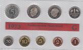 10,68 DM (1 Pfennig - 5 Mark) 1973 G Deutschland BRD , Offizieller Kurs... 30,00 EUR