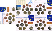 BRD 5 x 5,88 € Kursmünzensatz BRD Jahrgang 2009 komplett (A, D, F, G, J), Stgl