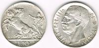 10 Lire 1926 Italien Italien 1926, 10 Lire, Victor Emanuel III - Biga, ... 159,00 EUR  zzgl. 5,00 EUR Versand
