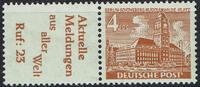 1  Werte 1949 Berlin Berlin, Mi-Nr. W 27 , Freimarken: Berliner Bauten ... 26,00 EUR  zzgl. 5,00 EUR Versand