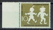 1 Wert 1958 BRD BRD, Mi.-Nr. 281 I F 6  postfrisch, Wilhelm Busch postf... 28,00 EUR