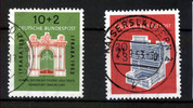 BRD 2 Werte, 10 bis 20 Pfennig BRD, Mi.-Nr. 171-72, <i>Internationale Briefmarkenausstellung</i>
