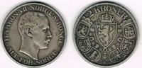 2 Kroner 1908 Norwegen Norwegen 1908, 2 Kroner, Haakon VII., Erhaltung ... 89,00 EUR  zzgl. 5,00 EUR Versand