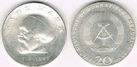 20 Mark 1968 Deutsche Demokratische Republik DDR, Gedenkmünze 20 Mark '... 45,00 EUR  zzgl. 5,00 EUR Versand