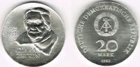 20 Mark 1982 Deutsche Demokratische Republik DDR, Gedenkmünze 20 Mark '... 43,50 EUR  zzgl. 5,00 EUR Versand