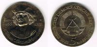 5 Mark 1981 Deutsche Demokratische Republik DDR, 5 Mark 'Tilman Riemens... 27,00 EUR  zzgl. 5,00 EUR Versand