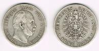 5 Mark 1876 B Preußen Preußen 5 Mark 1876 B, Wilhelm I., Erhaltung sieh... 25,50 EUR  zzgl. 5,00 EUR Versand