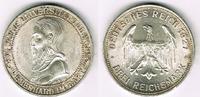 3 Mark 1927 F Weimarer Republik 3 Mark Silber-Gedenkmünze, 450 Jahre Un... 275,00 EUR  zzgl. 4,00 EUR Versand