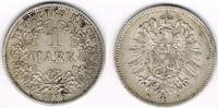 1 Mark 1876 F Kaiserreich Kaiserreich, Kursmünze 1 Mark 1876 F, 900er S... 25,00 EUR  zzgl. 5,00 EUR Versand