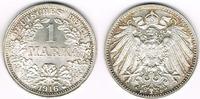 1 Mark 1916 F Kaiserreich Kaiserreich, Kursmünze 1 Mark 1916 F, 900er S... 24,00 EUR  zzgl. 5,00 EUR Versand