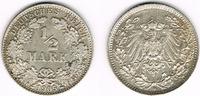 1/2 Mark 1905 D Kaiserreich Kaiserreich, Kursmünze 1/2 Mark 1905 D, 900... 2,90 EUR  zzgl. 5,00 EUR Versand