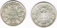 1/2 Mark 1912 F Kaiserreich Kaiserreich, Kursmünze 1/2 Mark 1912 F, 900... 5,00 EUR  zzgl. 5,00 EUR Versand