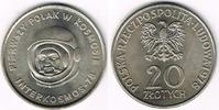 20 Zlotty 1978 Polen Polen 1978, 20 Zloty '1. polnischer Kosmonaut', si... 3,00 EUR  zzgl. 5,00 EUR Versand