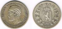 50 Öre 1896 Norwegen Norwegen 1896, 50 Öre, Oscar II., Erhaltung siehe ... 49,00 EUR  zzgl. 5,00 EUR Versand