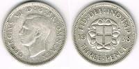 3 Pence 1938 Großbritannien 3 Pence 1938, Georg VI., Silber, siehe Scan... 4,50 EUR  zzgl. 5,00 EUR Versand