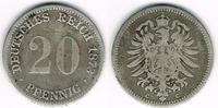 20 Pfennig 1873 C Deutsches Kaiserreich Kaiserreich, Kursmünze 20 Pfenn... 14,00 EUR  zzgl. 5,00 EUR Versand