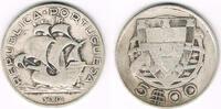 5 Escudos 1934 Portugal Portugal, 5 Escudos Kursmünze Segelschiff, Erha... 12,50 EUR  zzgl. 5,00 EUR Versand