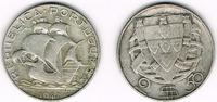 2 1/2 Escudos 1942 Portugal Portugal, 2 1/2 Escudos Kursmünze Segelschi... 5,00 EUR  zzgl. 5,00 EUR Versand